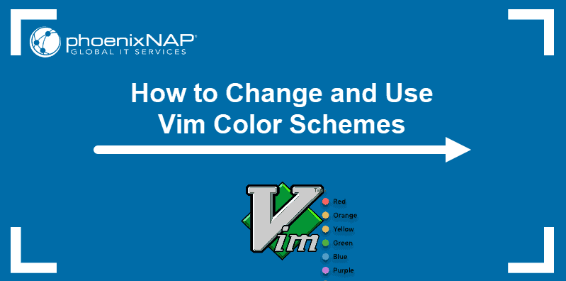 Tutorial on vim color schemes