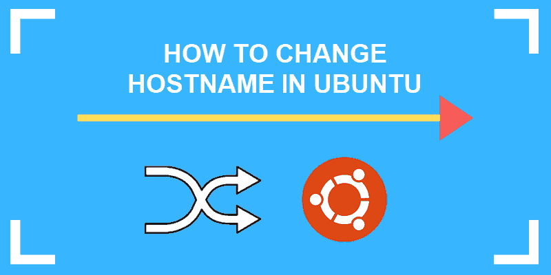 how to change hostname in ubuntu