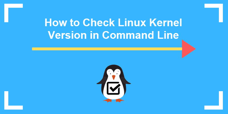 how to check linux kernel version command line