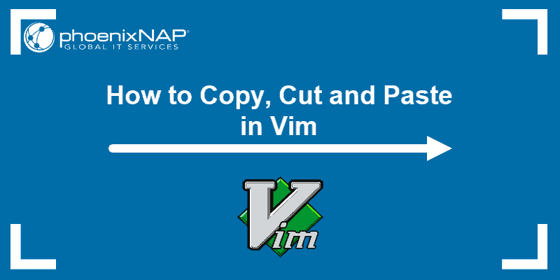 guide on how to copy and paste using Vim