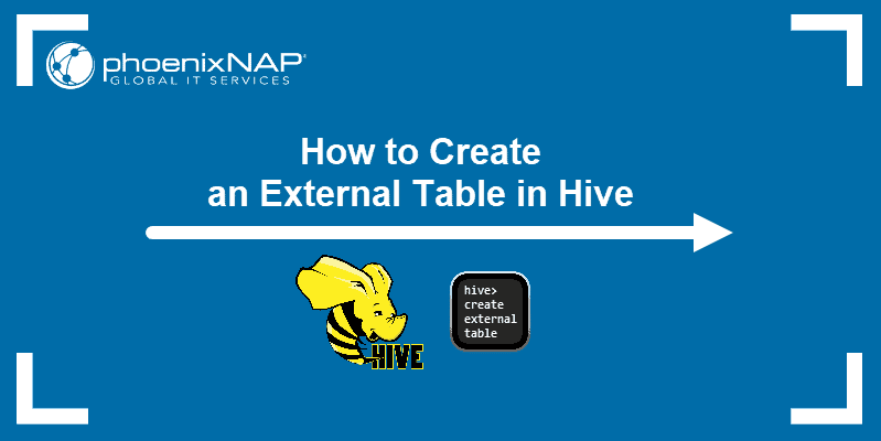 How to Create an External Table in Hive