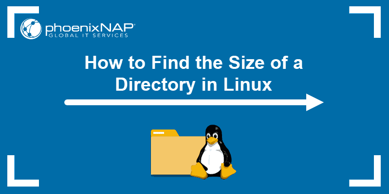 Tutorial on how to find directory size linux
