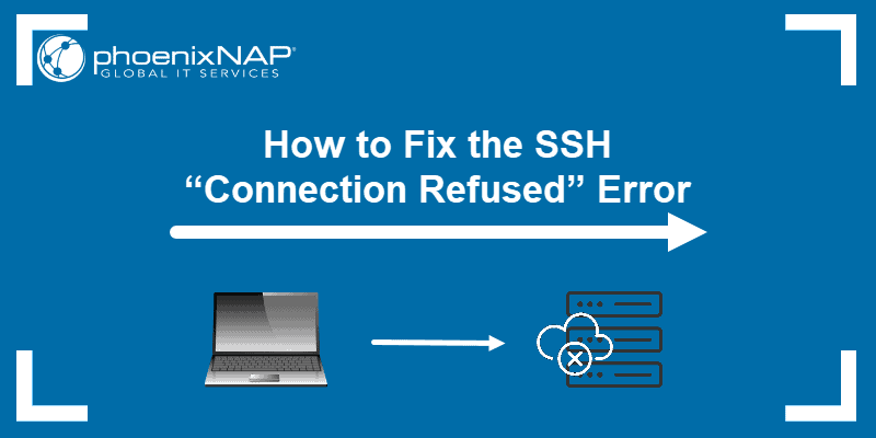 How to fix the ssh connection refused error.