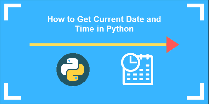 How to get the current date and time using Python.
