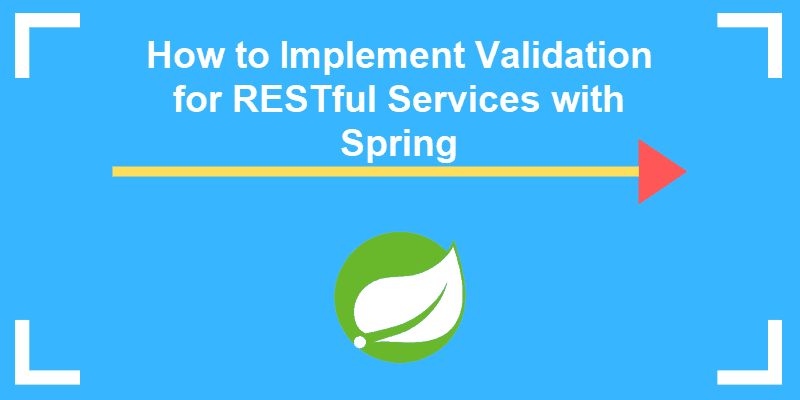 guide on how to implement validation for restful services with spring