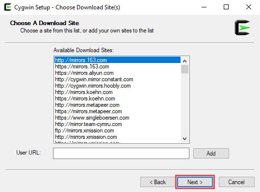 Choosing a download website