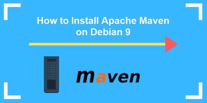 how to install apache maven on debian9