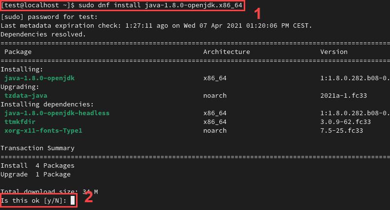 Installing OpenJDK