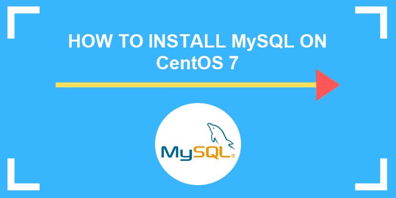 how to install mysql on centos