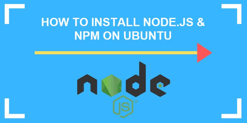 how to install node.js on ubuntu