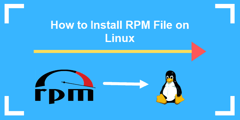 how to install rpm file on linux