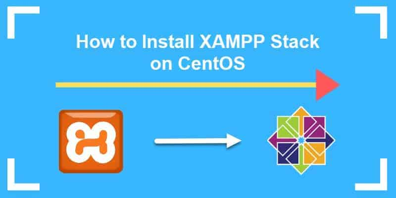 tutorial guide on installing the xampp stack on centos