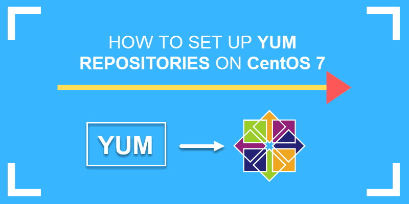 how to install yum repository on centos7