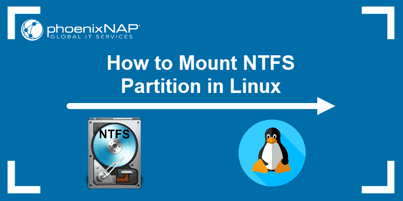 How to Mount NTFS Partition in Linux