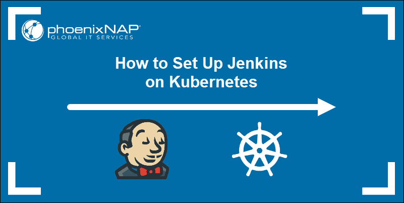 article on installing jenkins on kubernetes cluster