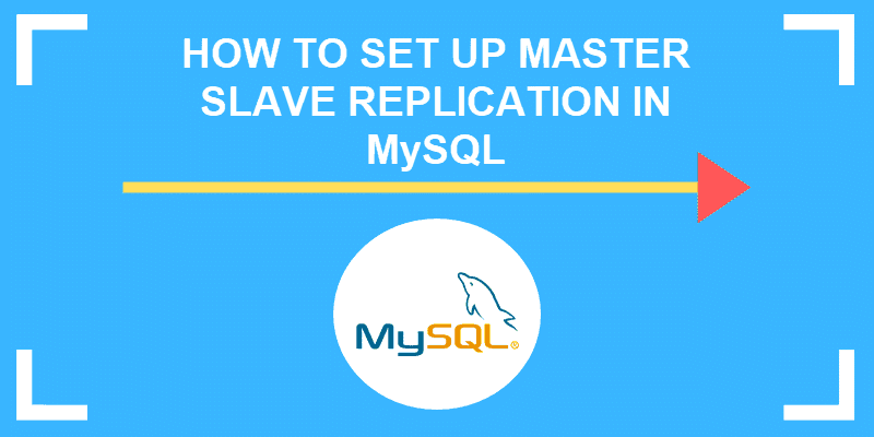 how to set up master slave in mySQL