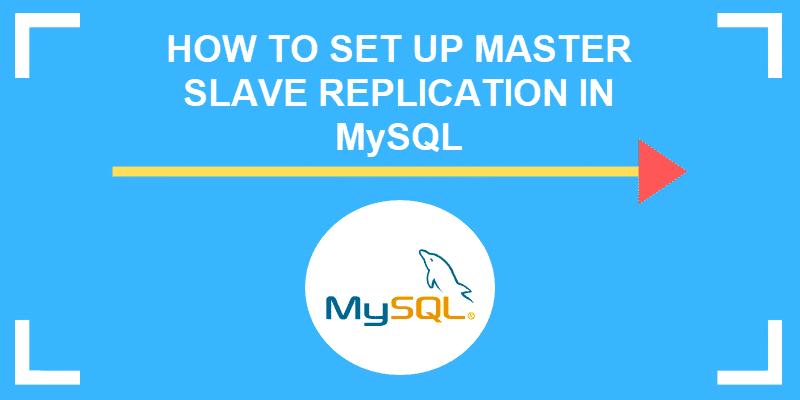 how to set up master slave in mySQL