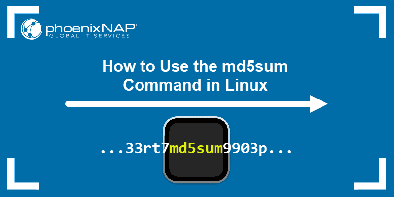 How to Use the md5sum Command in Linux