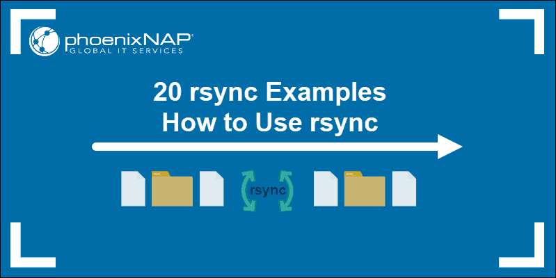 guide with 20 examples of rsync command in linux