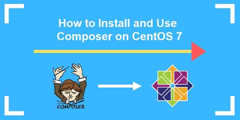installing and using php composer on centos 7
