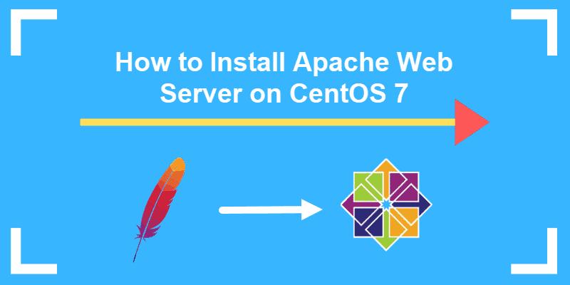 tutorial on how to install apache web server on centos 7