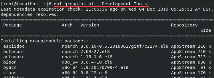 install development tools for git