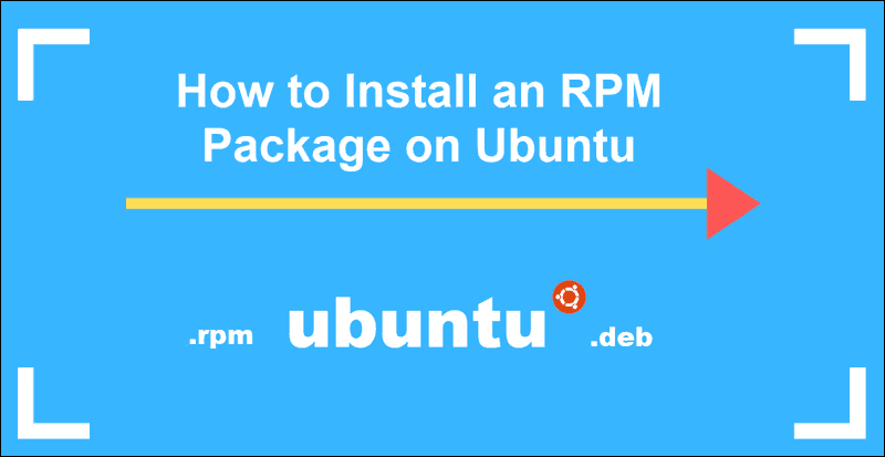 tutorial on installing rpm packages on Ubuntu