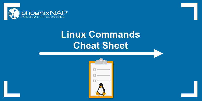 list of common Linux commands with a downloadable cheat sheet