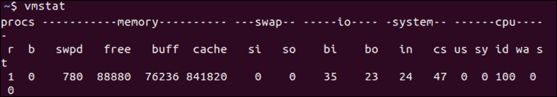 linux-vmstat-memory-check-command