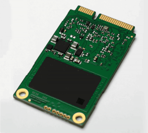 mSATA SSD storage option