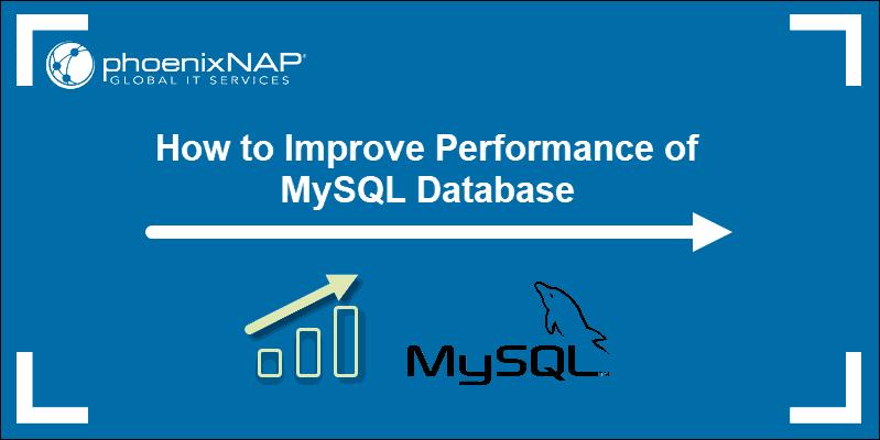 tutorial on performance tuning MySQL and optimization