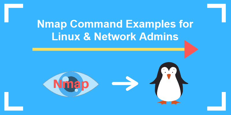 nmap command examples for linux and network admins