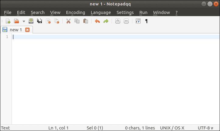 notepadqq main screen sample