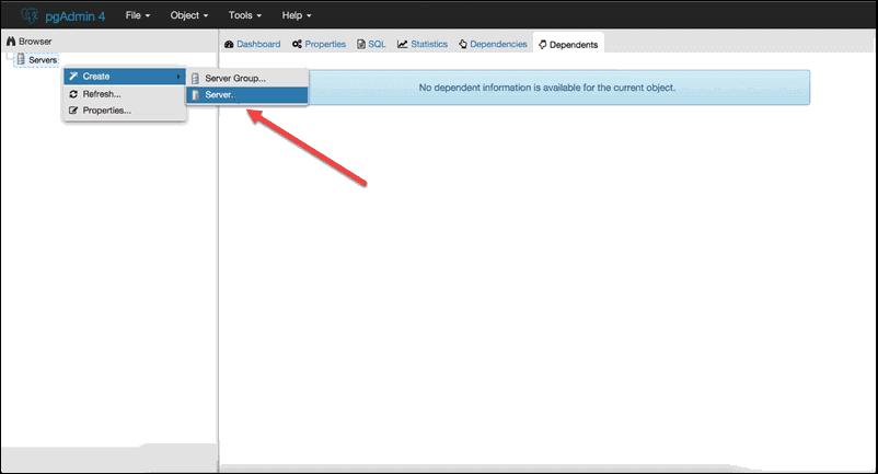 How to access postgre using PGAdmin 3.