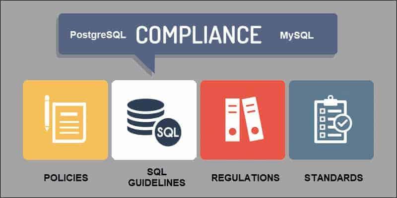 SQL compliance elements.