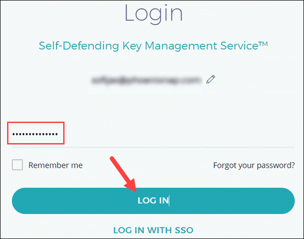 Provide password for EMP account.