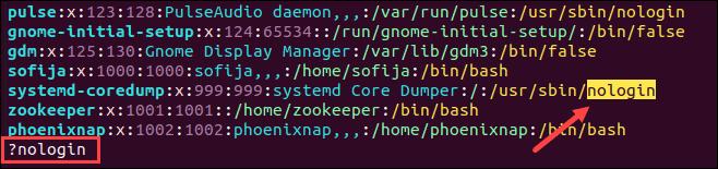 Search in Vi/Vim backward.