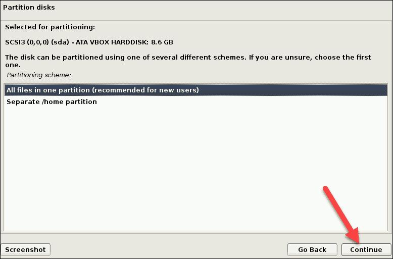 select partition scheme