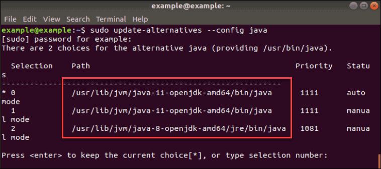Set up Java Home Varialbe Enviornment.