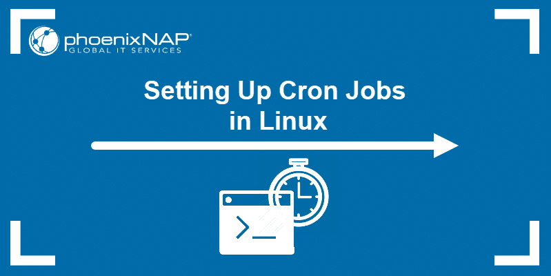 tutorial on how to set up linux cron job