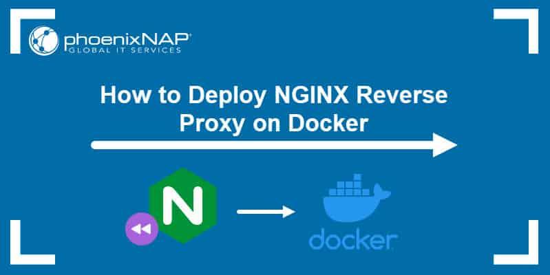 Deploy Nginx reverse proxy on Docker.