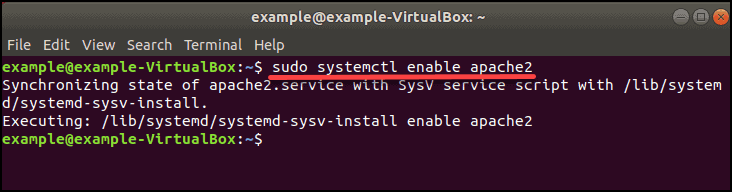systemctl enable service at boot