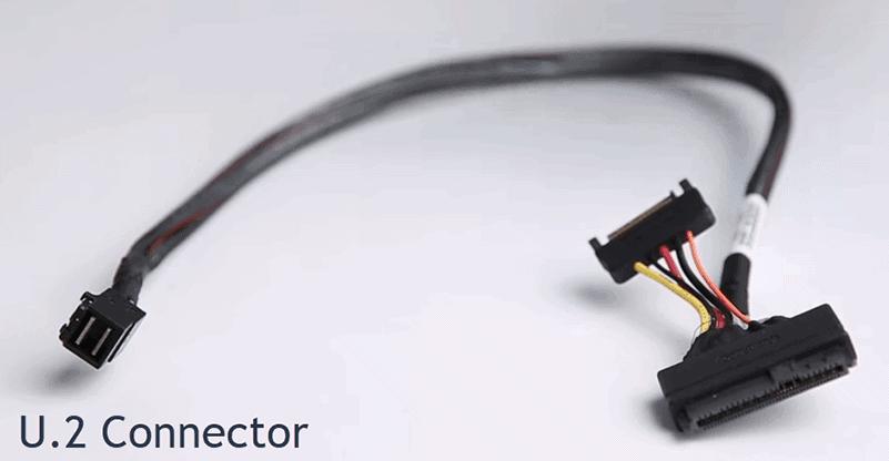 a u.2 hard drive connector
