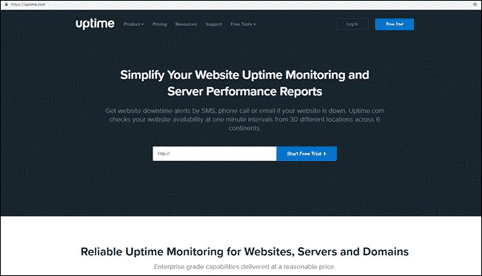 uptime monitoring tool