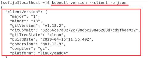 Verify Kubectl installation.
