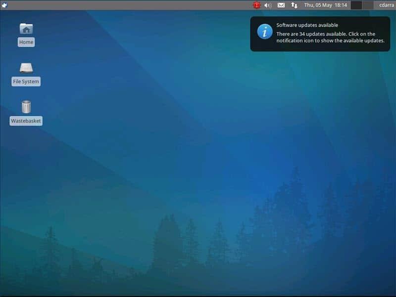 installation of Xubuntu desktop environment