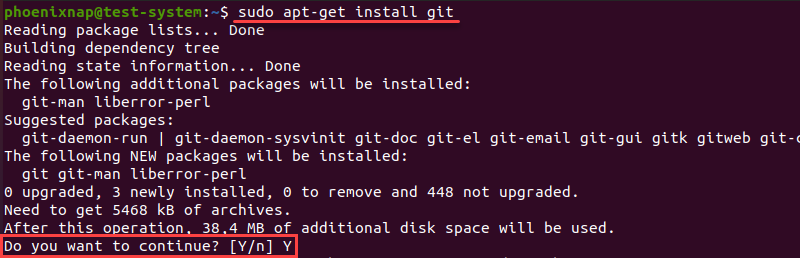 Installing the latest version of Git on Linux
