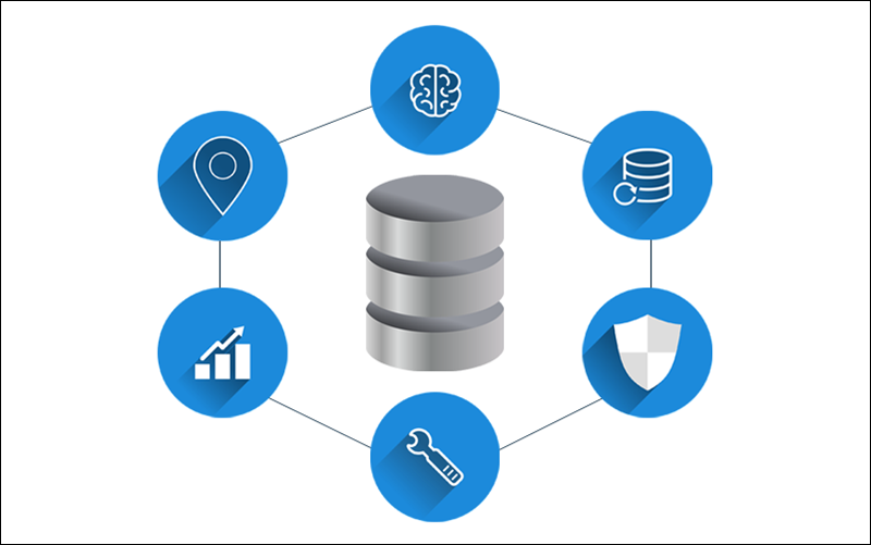 Key features of cloud databases.