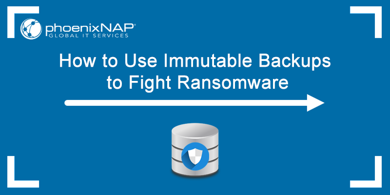 Learn how to use immutable backups to fight ransomware.