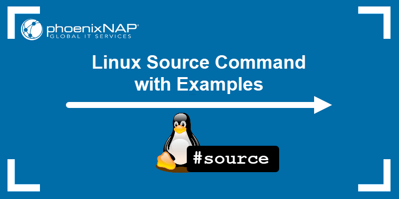 Linux source command with examples